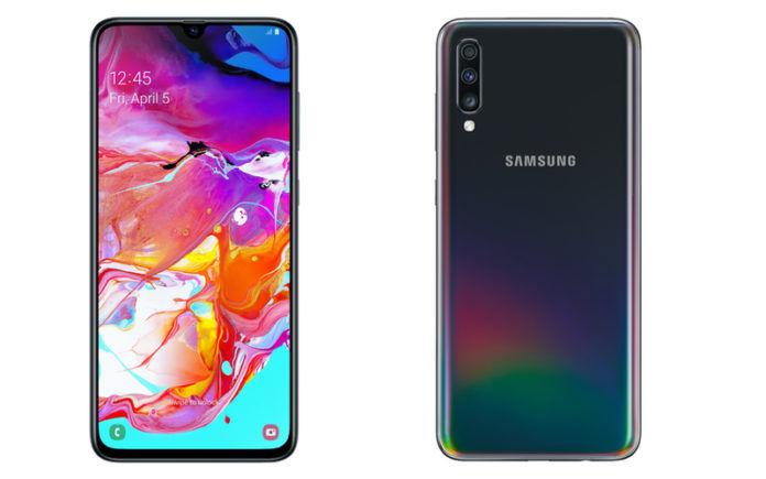 smartphone dengan fingerprint di layar