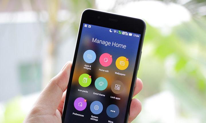 Smartphone dengan Android Go