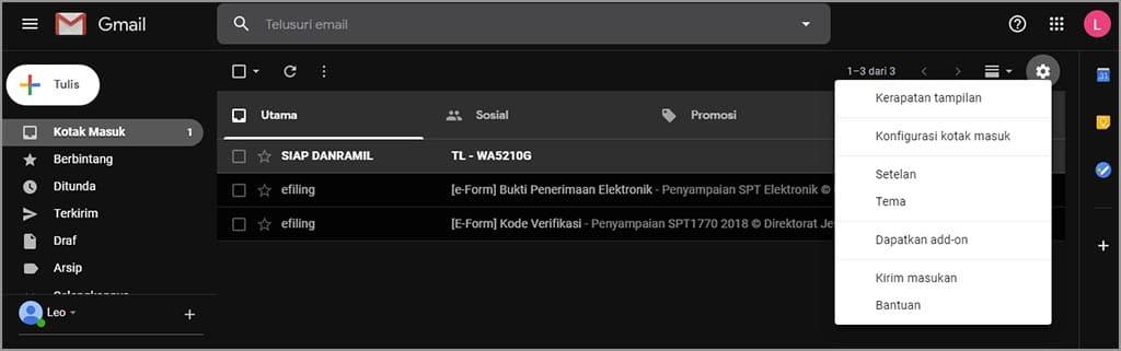 cara membuat invoice di gmail