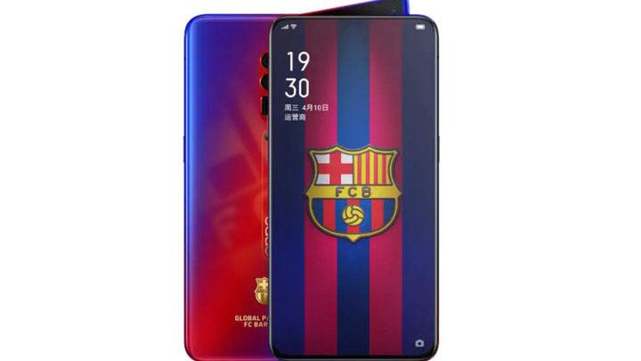 Harga Oppo Reno 10x Zoom FC Barcelona Edition