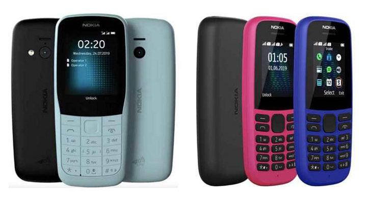 Nokia 220 4G dan Nokia 105