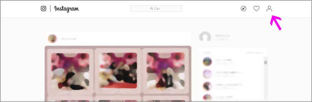 cara melihat aktivitas login di instagram
