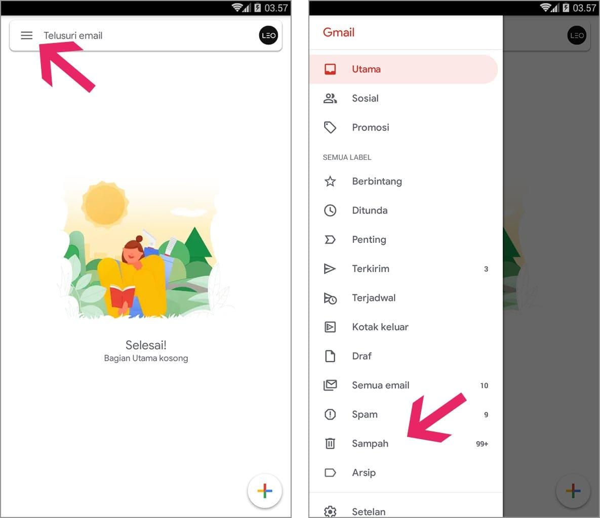 Lihat Cara Mencari Email Yang Hilang Di Gmail Terbaru