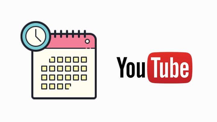 menjadwalkan video di youtube