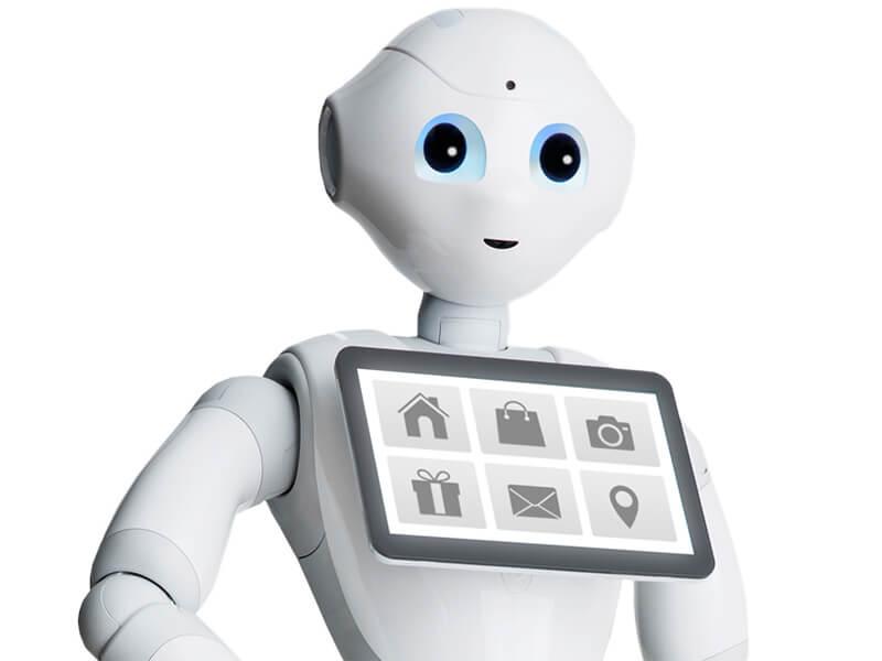 Robot futuristik canggih