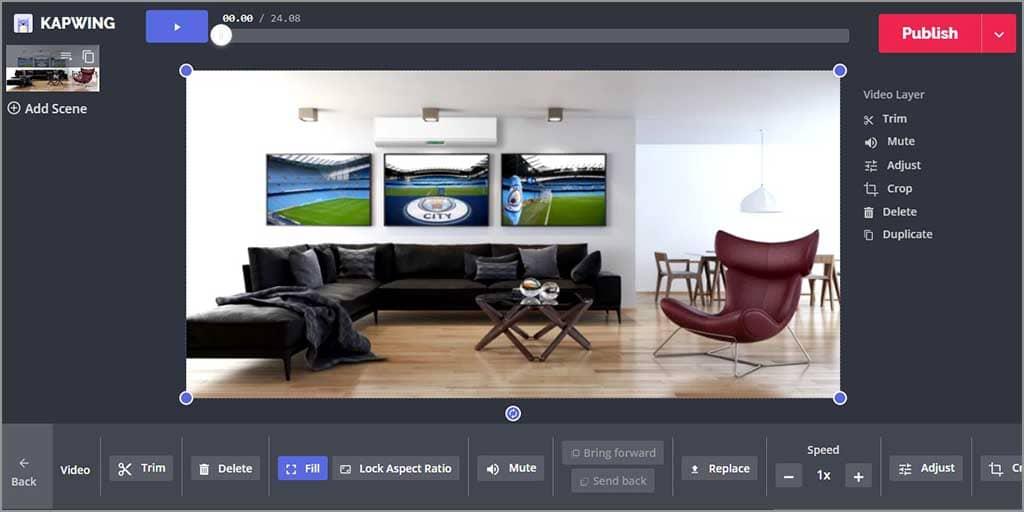 gunakan video editor online