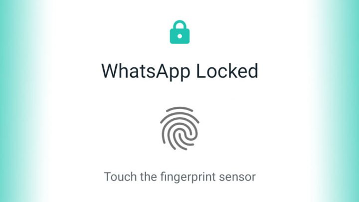 Fingerprint WhatsApp