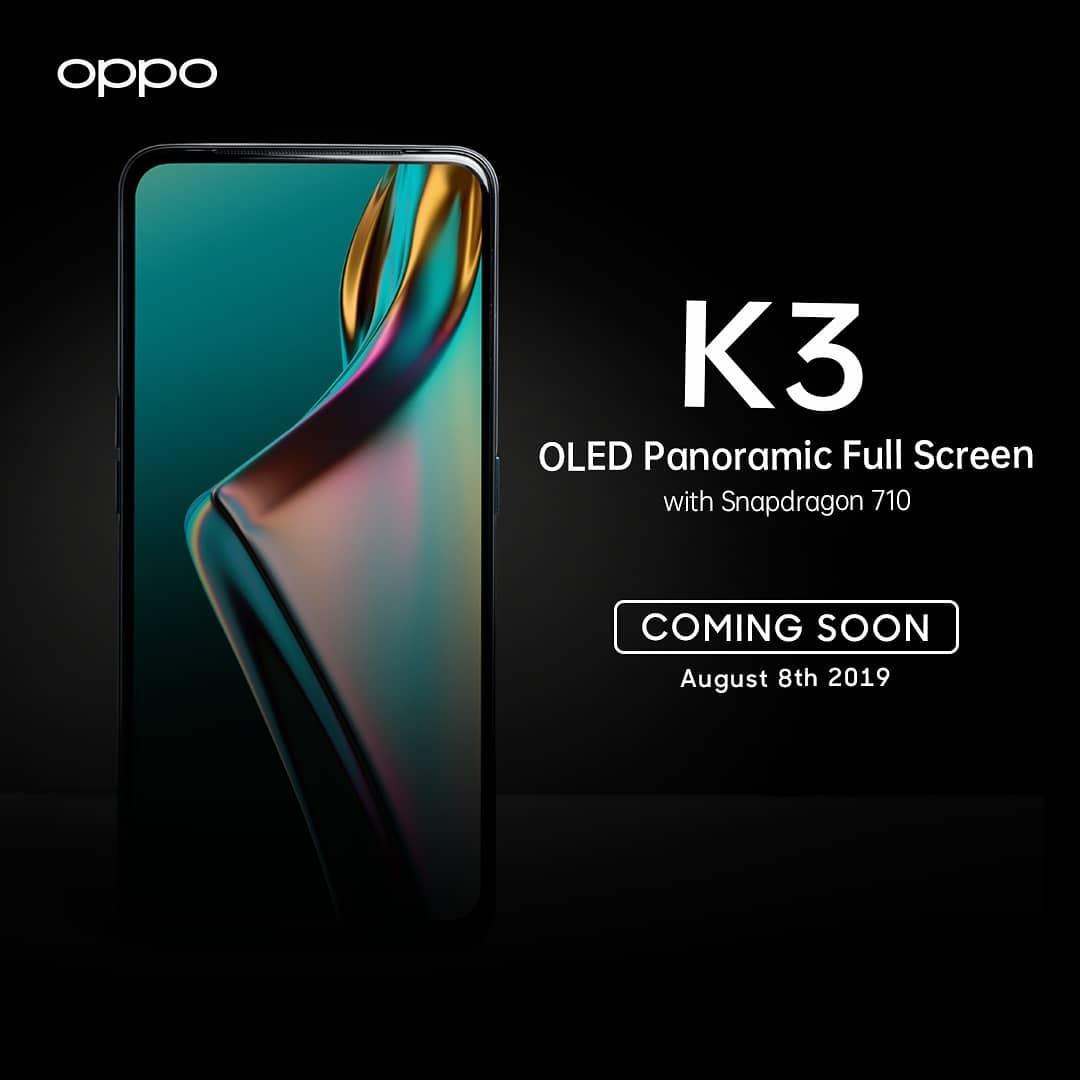 Spesifikasi Oppo K3