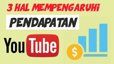 Pendapatan YouTube