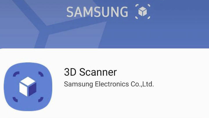 Samsung 3D Scanner