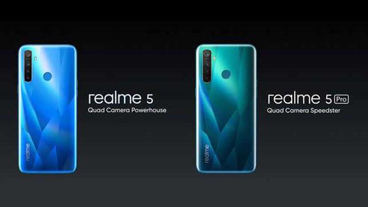 Spesifikasi Realme 5 dan Realme 5 Pro