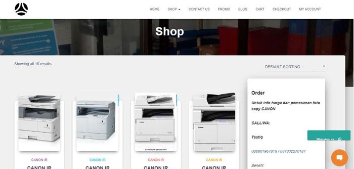 Distributor Resmi Mesin Fotocopy