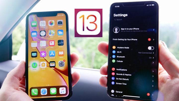 sebelum update ke iOS 13