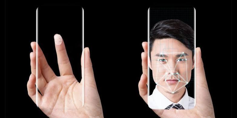 Face Unlock dan Fingerperint