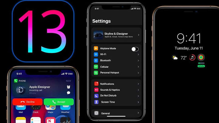 upgrade ke iOS 13