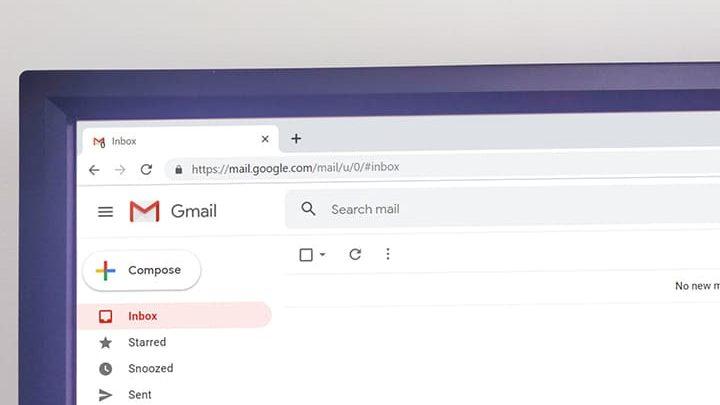 cara tampilan gmail