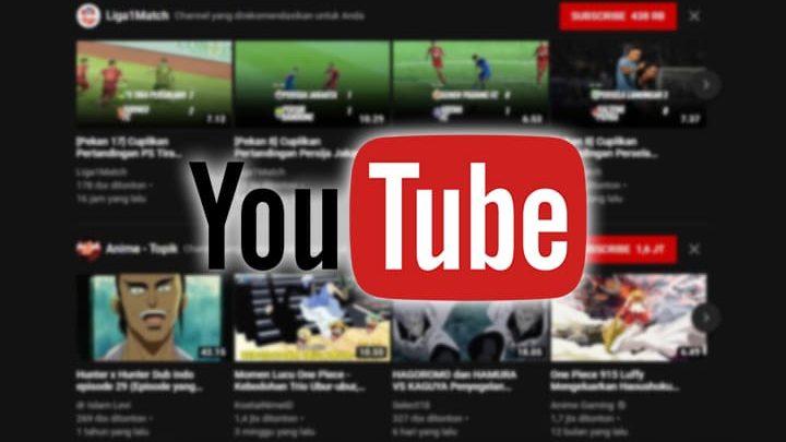 video rekomendasi youtube