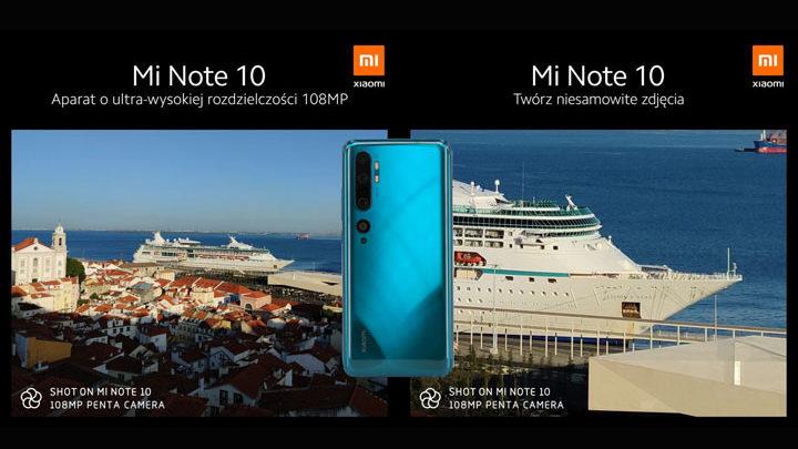 i Xiaomi Mi Note 10 Pro dan Mi Note 10
