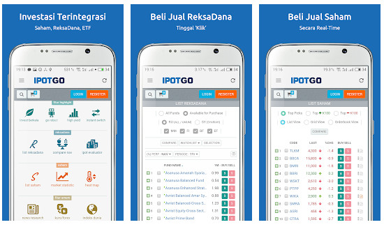 Aplikasi reksadana ipotGo