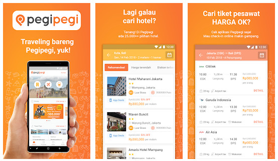 Aplikasi Booking Hotel Android