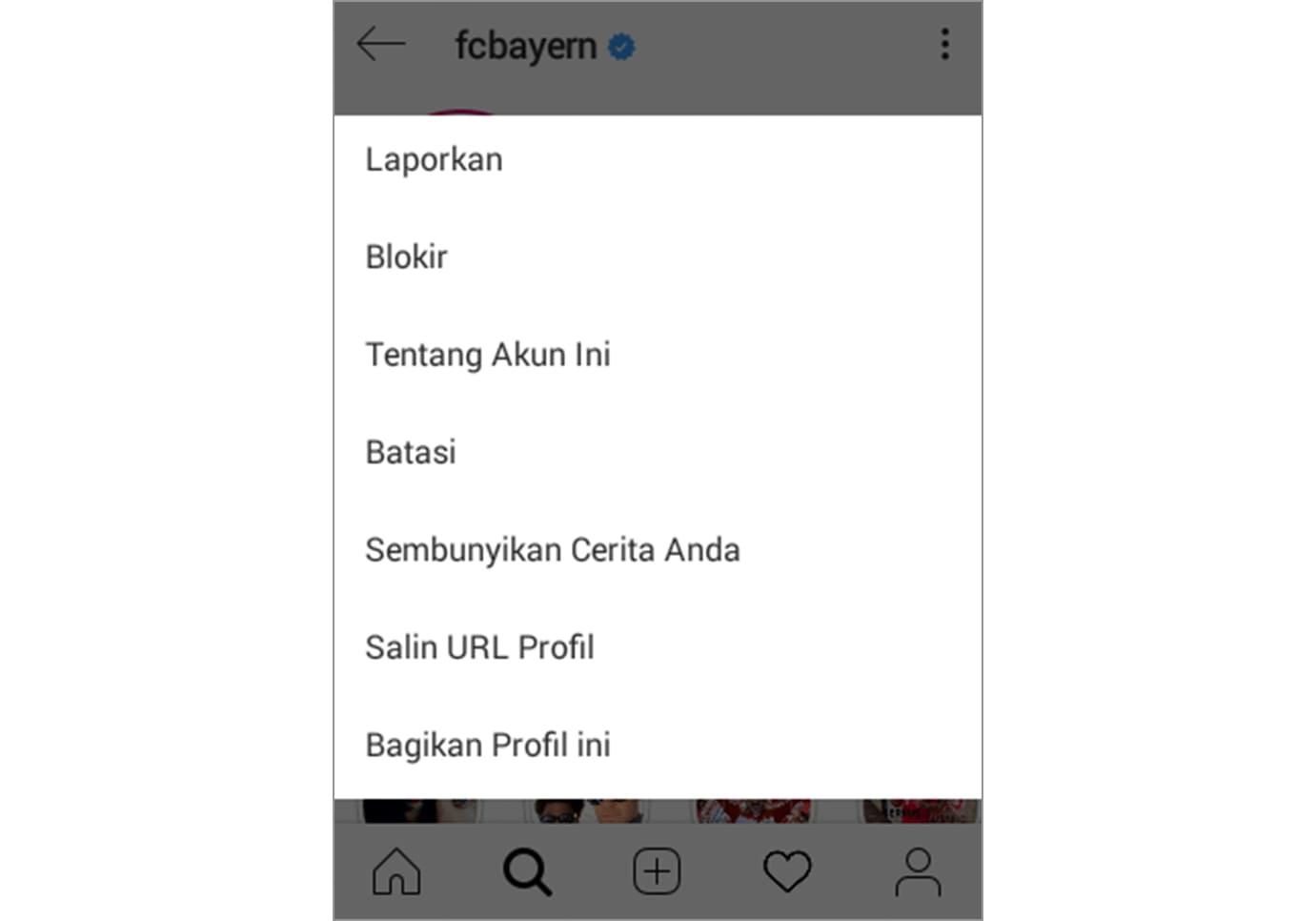 fitur restrict instagram 2