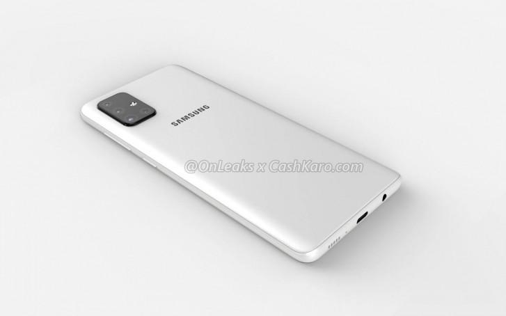 Penampakan Samsung Galaxy A71