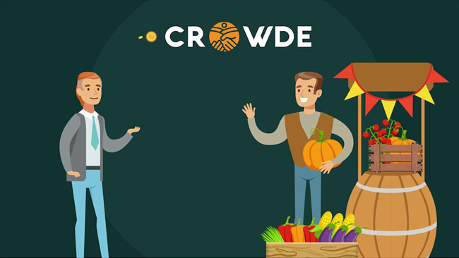 Crowde pertanian online
