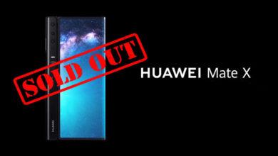 Huawei Mate X: Terjual Habis