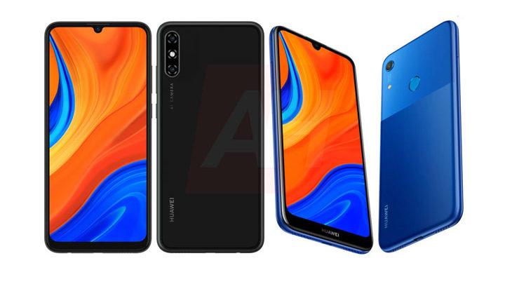 Penampakan Huawei Y6s