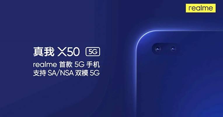 Bocoran Spesifikasi Realme X50 5G