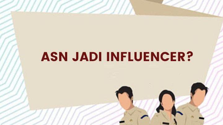 influencer pemerintah