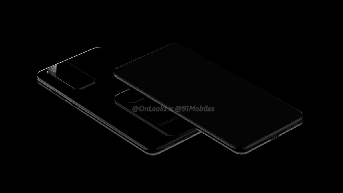 Bocoran Spesifikasi dan Penampakan Huawei P40 5G Series