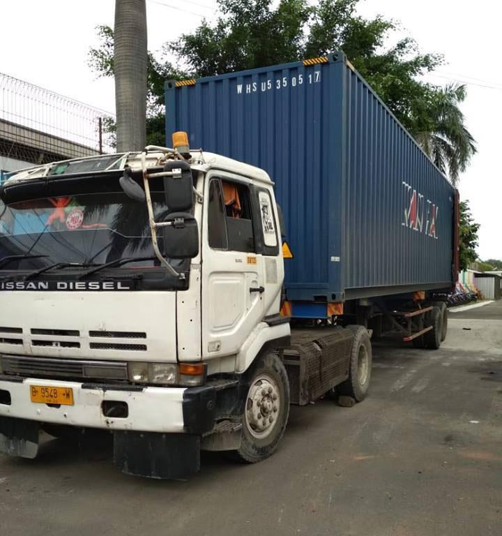 Jasa Pengiriman Barang dengan Container
