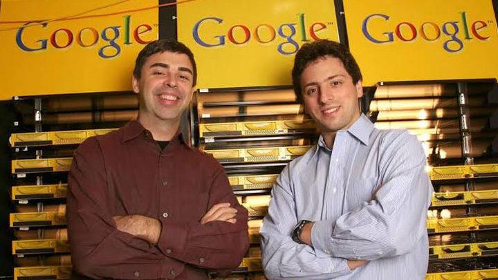 Larry Page dan Sergey Brin