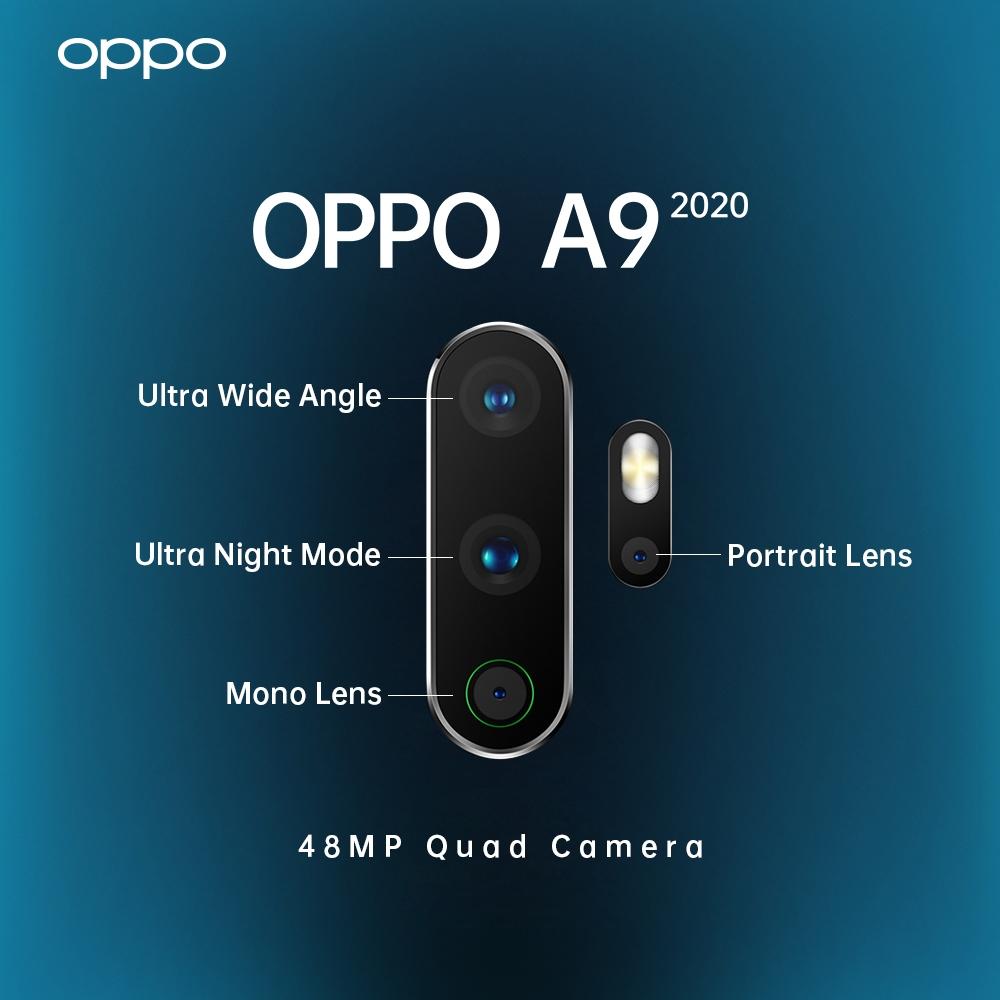 Oppo A5 2020 4 kamera