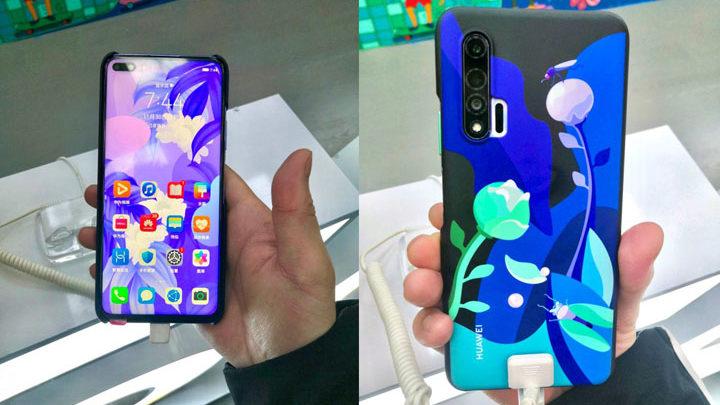 Penampakan Langsung Huawei Nova 6
