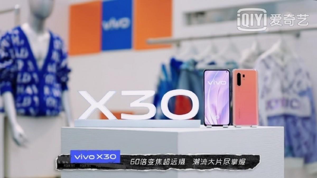 Penampakan Langsung Vivo X30