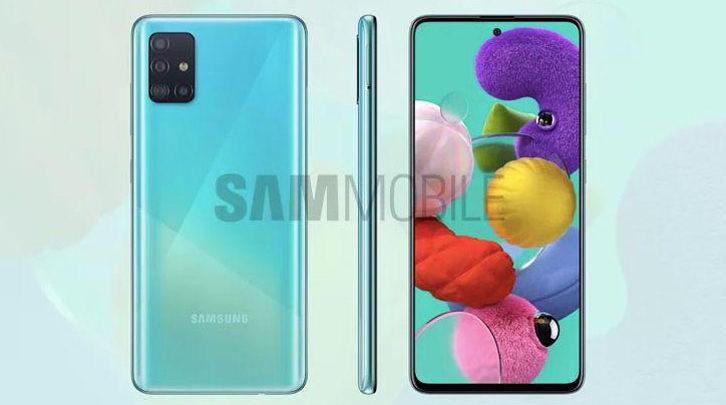 Penampakan Samsung Galaxy A51