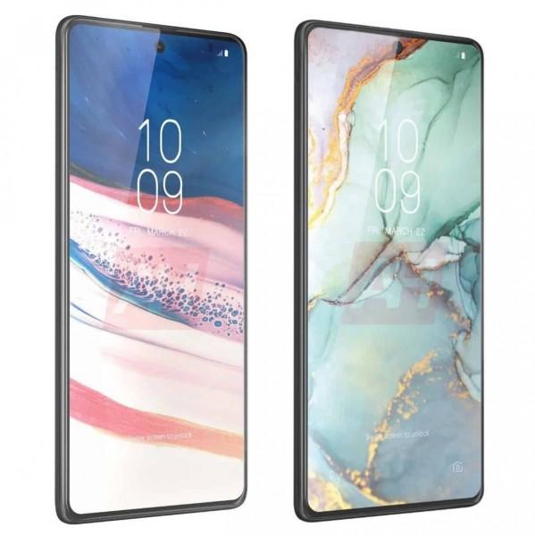 Penampakan Samsung Galaxy S10 Lite