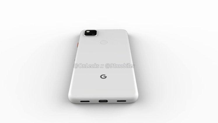 Penampakan Google Pixel 4a