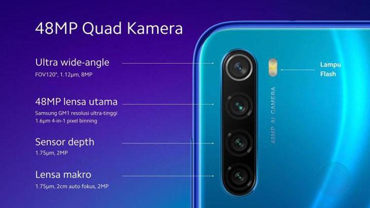 Smartphone 4 kamera