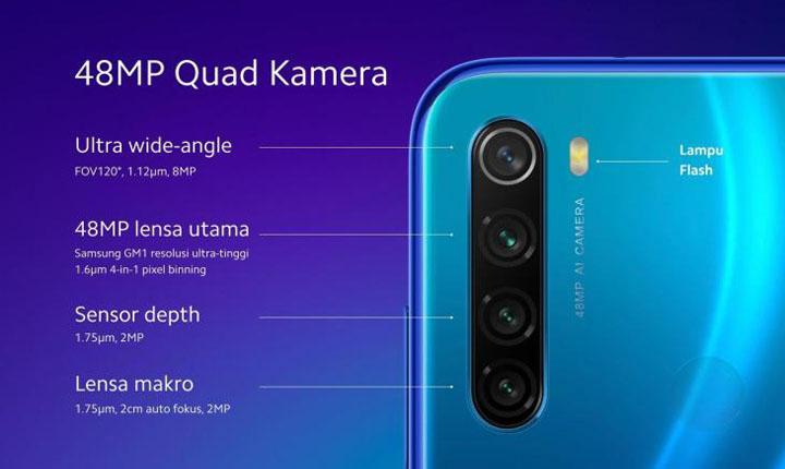 inilah 5 smartphone dengan 4 kamera terbaru harga