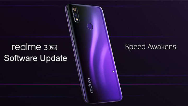 Realme 3 Pro Sofwate Update