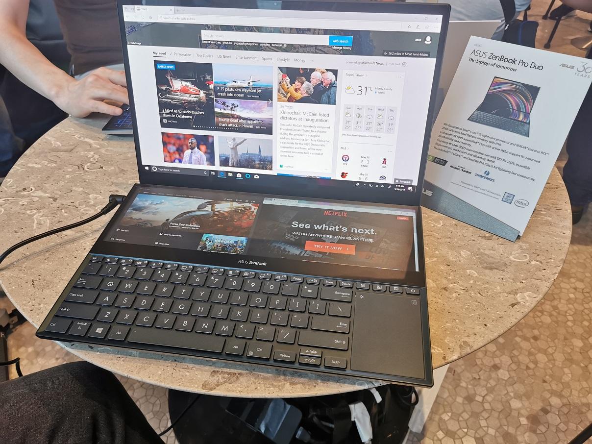 ZenBook Pro Duo