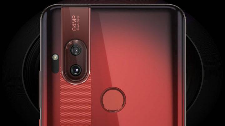 Smartphone dengan Kamera 64MP