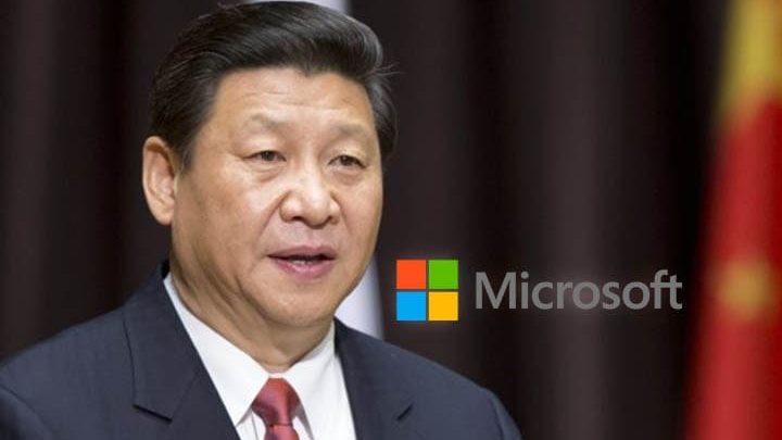 china microsoft