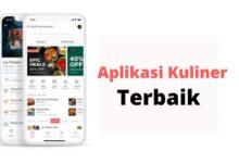 Aplikasi Kuliner terbaik