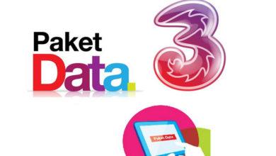 Daftar Paket Internet Tri ( 3 ) Terbaru dan Termurah Tahun 2020
