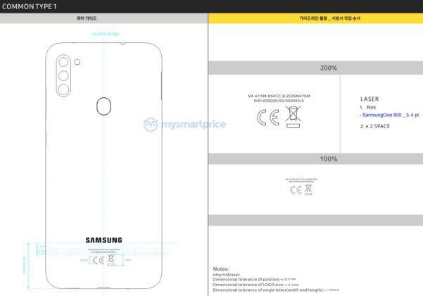 Bocoran Samsung Galaxy A11