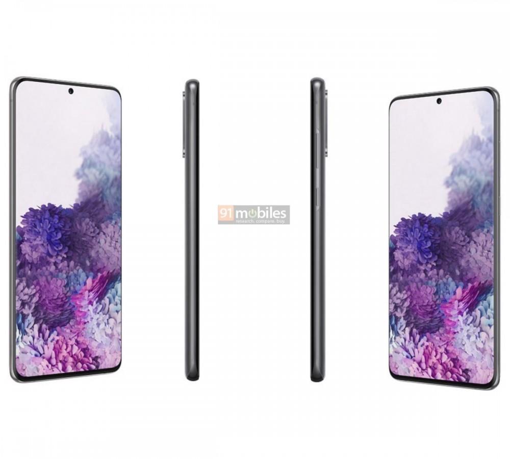 Penampakan Samsung Galaxy S20 Series